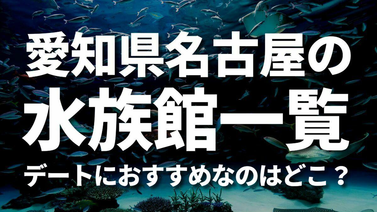 愛知県名古屋の水族館一覧